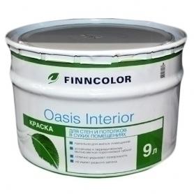 Краска для стен и потолков OASIS INTERIOR A (9л) купить в Кемерово, Новокузнецке - Первомастер